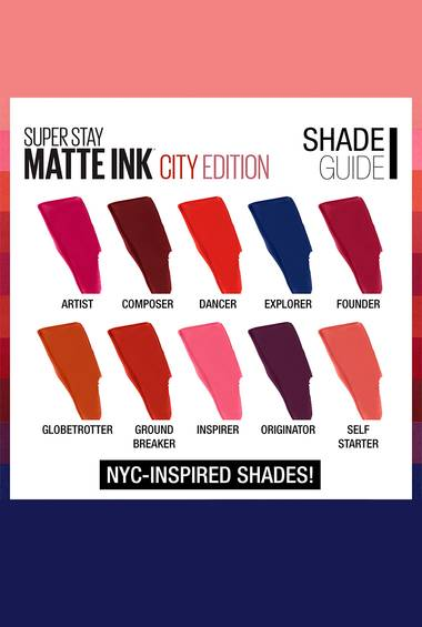 Super Stay Matte Ink City Edition